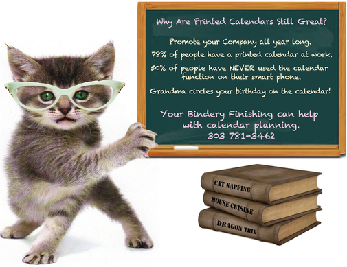 Calendar Kitty why printed calendars are still great